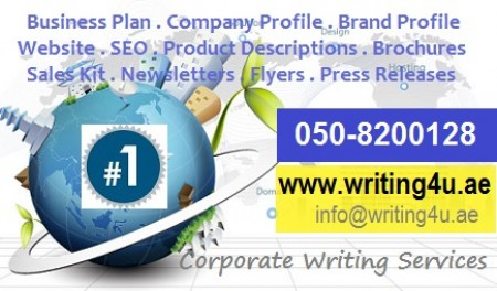 Business plan writing services dubai