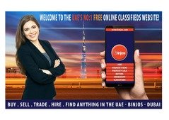 Welcome to the UAE's No:1 Free Online Classifieds Website - Binjos