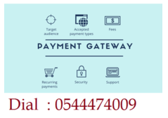 The  Best Payment Gateway UAE Services Dial: 0544474009