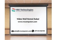 Call us 04-3866001 for Video Wall Rental Services in UAE