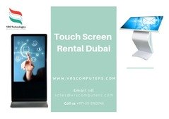 Call us 055-5182748 for Event Touch Screen on Rent in UAE