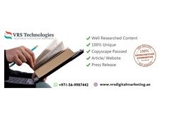 VRS Technologies: High-Quality Content Writing Services in Al Raffa | 0569987442.