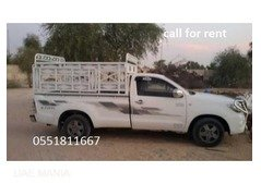 1 Ton Pickup Truck For Rent in sharjah / 0503571542