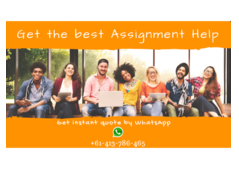 Get the premium quality of assignment help and homework help services in Australia!