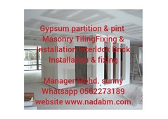 Gypsum Partition Works 0562273189
