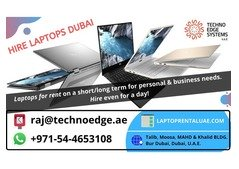 Laptop rental services in Dubai and over UAE