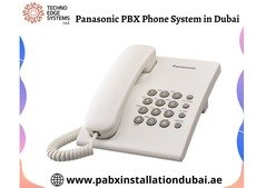 Buy Advanced Panasonic PABX Systems in Dubai - Techno Edge Systems