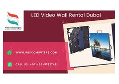 Hire LED Video Wall Rentals for Events in Sharjah