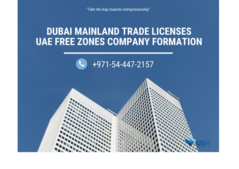 Trade License @ AED8810/year - #0544472157