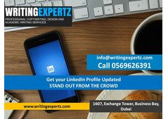 LinkedIn profile WhatsApp Now 0569626391  Writers –Top rated and 100% Satisfaction in UAE