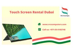 Custom Touch Screen Monitor Rentals for Conventions