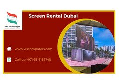 LED Display or LED Screen Rental Services in UAE