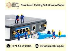 Structured Cabling Solution in Dubai | Call 054-7914851