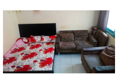 Furnished studio flat for rent Sharing with seperate Kitchen