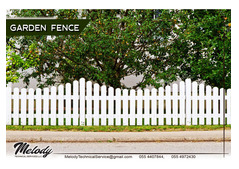 Wooden Fence Suppliers | Garden Fence Dubai | Picket Fence Sharjah | Privacy Fence Suppliers in UAE