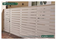 WPC Fence |Privacy Fence in Sharjah | Composite wood Fence Suppliers in UAE