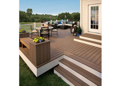Wooden Flooring | WPC Decking in Garden | WPC Decking in Home | WPC Decking Suppliers over all UAE