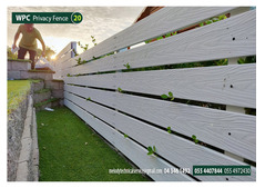 WPC Fence | WPC Privacy Fence in Sharjah | WPC Fence Wall Fence in Dubai | Suppliers over all UAE