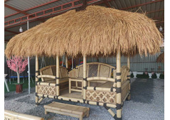 Self Stand Thatch Roof Gazebo Special Offer