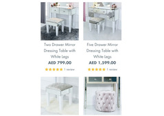 Buy Elegant Dressing Tables on-line in Asian country at Vanity Living