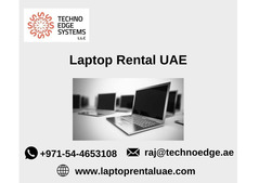 Where can I get Laptops for Rent in UAE?