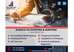 Accounting firm in Dubai  Elevate accounting and auditing services in Dubai, UAE