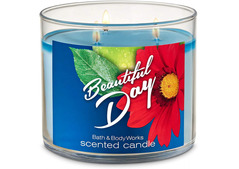 Bath and Body Works Beautiful Day 3-Wick Scented Candle 411g