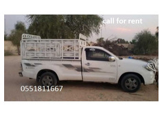 Pickup for rent in sharjah. 0503571542
