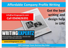 0569626391 Company Profile – Best Design in Dubai, Sharjah, Ajman - WritingExpertz.com