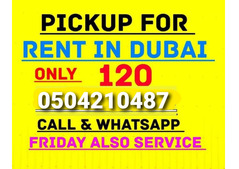 pickup truck for rent in al awir  0504210487