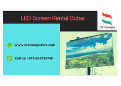 Who offer LED Screen Rental Services in UAE?