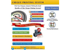 Best cheque printing software in Dubai 971-4-4216577