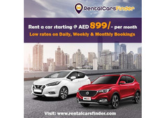 Rent a car Dubai - Low rates on Daily, Weekly & Monthly Bookings