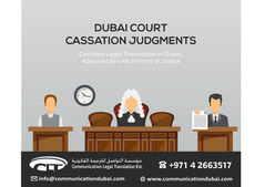 Dubai Court Cassation Judgments