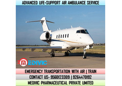 Receive Extraordinary Air Ambulance Service in Raipur at Low-Cost