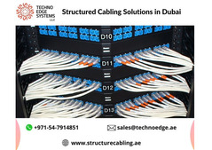 Best Structured Cabling in Dubai From Techno Edge Systems