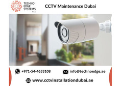 CCTV Maintenance Services in Dubai From Techno Edge Systems
