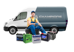 Champions Car Battery Replacement Service