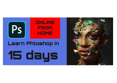 Master Adobe Photoshop from home