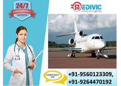 Use the Finest Shifting Service by Medivic Air Ambulance from Bhopal to Delhi