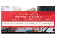 How to reduce operational costs and make your Business profitable?