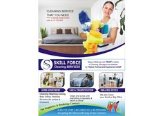 Hourly, daily and weekly cleaening services