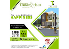 3BHK villas in Bowrampet | Tripura Landmark-3