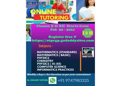 ONLINE TUITION CBSE