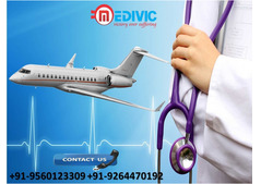 Select Hassle-Fare Air Ambulance Service in Dibrugarh by Medivic