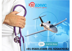 Use Superb ICU Air Ambulance Service in Jamshedpur by Medivic