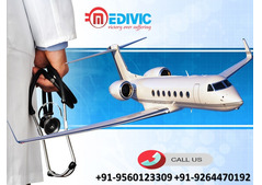 Take Admirable Air Ambulance Service in Lucknow by Medivic