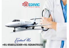 Get Estimable Air Ambulance Service in Nagpur by Medivic