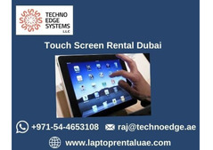 Get Touch Screens for Rent in Dubai