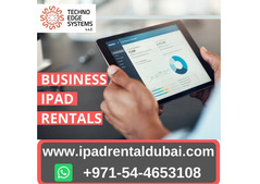 Latest iPads Available for Rental in Dubai